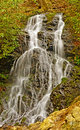 Woodland waterfall in the spring cataract falls smoky mountain Stock Photos