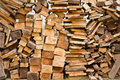 Woodpile Stock Photo