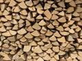 Woodpile Royalty Free Stock Photo