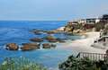 Woods Cove, Laguna Beach, California. Royalty Free Stock Photo