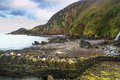 Woody Bay Royalty Free Stock Photo