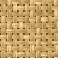 woody rattan wicker weave seamless pattern texture background Royalty Free Stock Photo