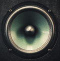 Woofer Speaker Closeup Royalty Free Stock Photo