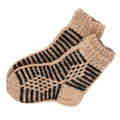 Wool socks Royalty Free Stock Image