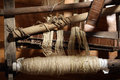 Wool winder machine Stock Images
