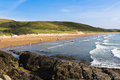 Woolacombe Devon Royalty Free Stock Photography