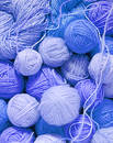 Woolen balls Royalty Free Stock Photography