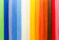Woolen colorful threads Royalty Free Stock Photo