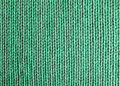 Woolen fabric green Stock Image
