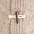 Wooly jumper toggle Stock Photos