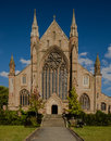 Worcester Cathedral alongside the River Severn Royalty Free Stock Photo