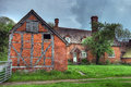 Worcestershire farmhouse timber framed and brick england Royalty Free Stock Photography
