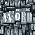 Word block Stock Images
