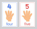 The word card 4-5