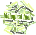 Word cloud for Biological Fuel Stock Photography