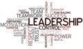 Word Cloud Leadership