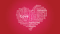 01 Word Cloud Love Passion Heart Gratitude valentine day
