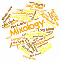 Word cloud for Mixology Stock Images
