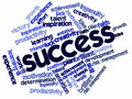 Word cloud for Success Stock Photo