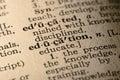 Slovo vzdělání