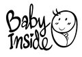 Word expression for baby inside