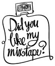 Word expression for did you like mixtape