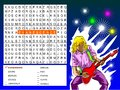 Word search game - find the nine rock bands Royalty Free Stock Images