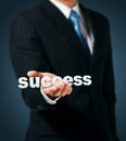 Word success Stock Photography