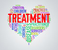 Wordcloud healthcare heart concept treatment