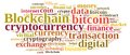 Words cloud with Blockchain Royalty Free Stock Photo