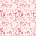 Words i love you on pink background Royalty Free Stock Photo