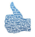 Words - Thumb Up Stock Images
