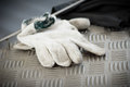 Work glove Royalty Free Stock Photo
