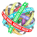 Work Hard Results Follow Instructions Inspiration Words Endless Royalty Free Stock Photo