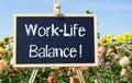 Work-Life Balance Royalty Free Stock Photo
