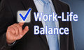 Work-life balance Royalty Free Stock Images