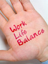 Work life balance Stock Images