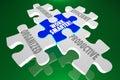 Work Smarter Organized Informed Efficient Productive Puzzle Piec