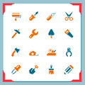 Work tool icons | In a frame series Royalty Free Stock Image