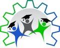 Worker education logo