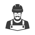 Worker vector icon.
