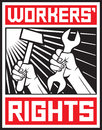 Workers rights Stock Photography