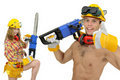 Workers team Royalty Free Stock Image