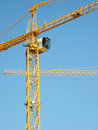 Working Crane Royalty Free Stock Photo