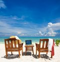Working paradise Royalty Free Stock Photo