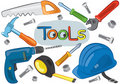 Working Tools Stock Image