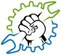 Workman logo Royalty Free Stock Photo