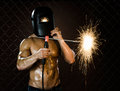 Workman welder Stock Images