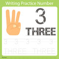 Worksheet Writing practice number three