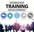 Workshop Training Teaching Development Instruction Concept Royalty Free Stock Photo